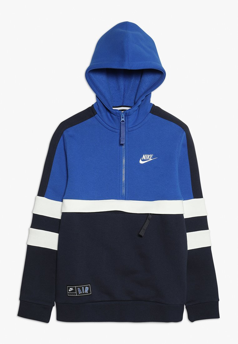 Nike Performance - AIR HOODIE  - Jersey con capucha - game royal/obsidian/sail