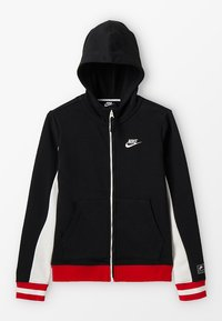 Nike Performance - Bluza rozpinana - black/sail/university red/ - 0