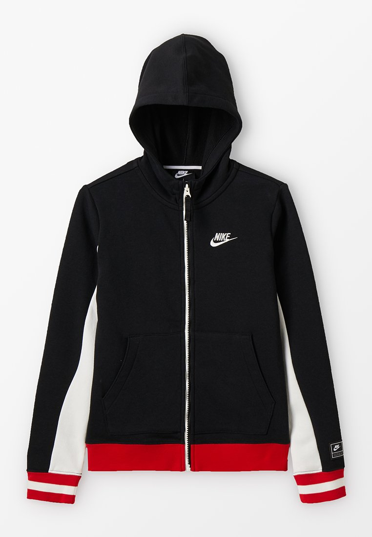 Nike Performance - Bluza rozpinana - black/sail/university red/
