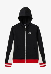 Nike Performance - Bluza rozpinana - black/sail/university red/ - 3
