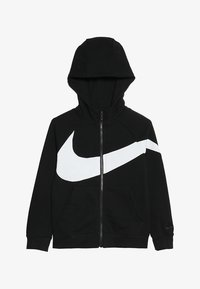 Nike Performance - HOODIE - Bluza rozpinana - black/white - 3