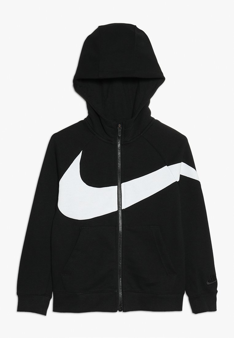 Nike Performance - HOODIE - Bluza rozpinana - black/white