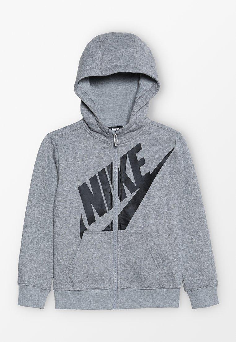 Nike Performance - FUTURA  FULL ZIP - Hoodie met rits - dark grey heather