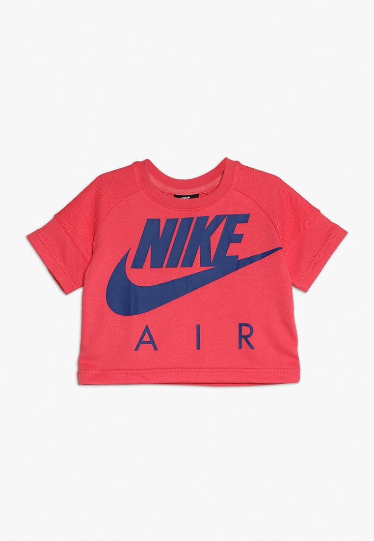 Nike Performance - CROP AIR CREW - Sweatshirt - ember glow