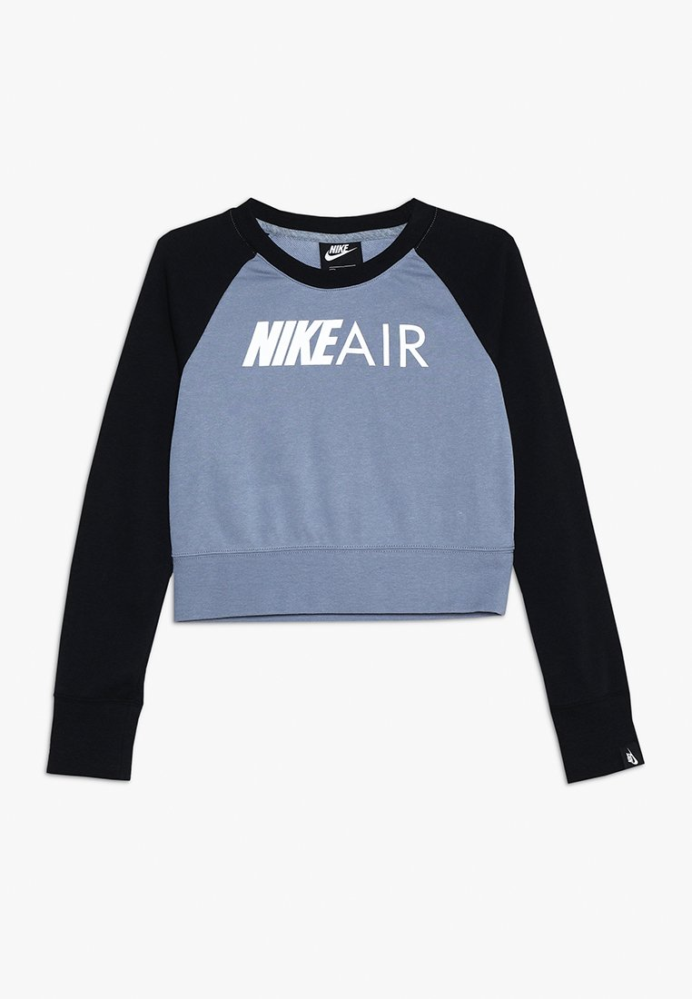 Nike Performance - CREW AIR - Bluza - ashen slate/black/white