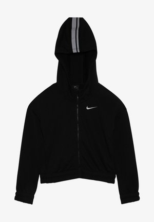 HOODIE STUDIO - veste en sweat zippée - black/metallic silver