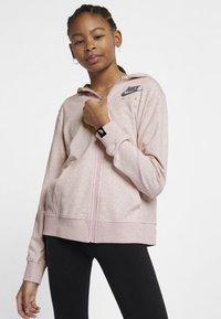 Nike Performance - veste en sweat zippée - pink - 1