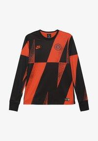 Nike Performance - CHELSEA LONDON DRY CREW  - Klubové oblečení - rush orange/black - 3