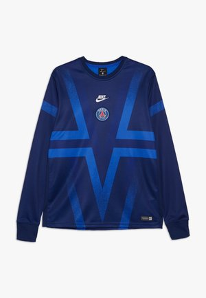 PARIS ST GERMAIN DRY CREW - Club wear - blue void/hyper royal/white
