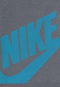 Nike Performance - TOTTENHAM HOTSPURS FLC HOOD - Fanartikel - flint grey/dark grey/blue fury - 3