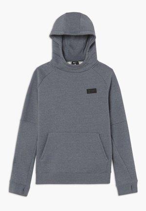 TOTTENHAM HOTSPURS FLC HOOD - Klubové oblečení - flint grey/dark grey/blue fury