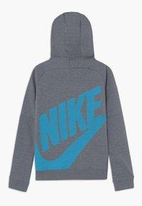 Nike Performance - TOTTENHAM HOTSPURS FLC HOOD - Fanartikel - flint grey/dark grey/blue fury - 1