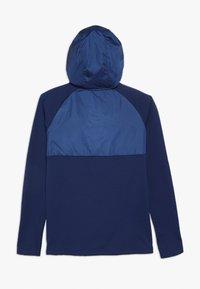 Nike Performance - CR7 DRY DRIL HOODIE - Bluza z kapturem - blue void/hyper jade/metallic silver - 1
