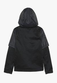 Nike Performance - THERMA WINTERIZED - Felpa aperta - black/gunsmoke - 1