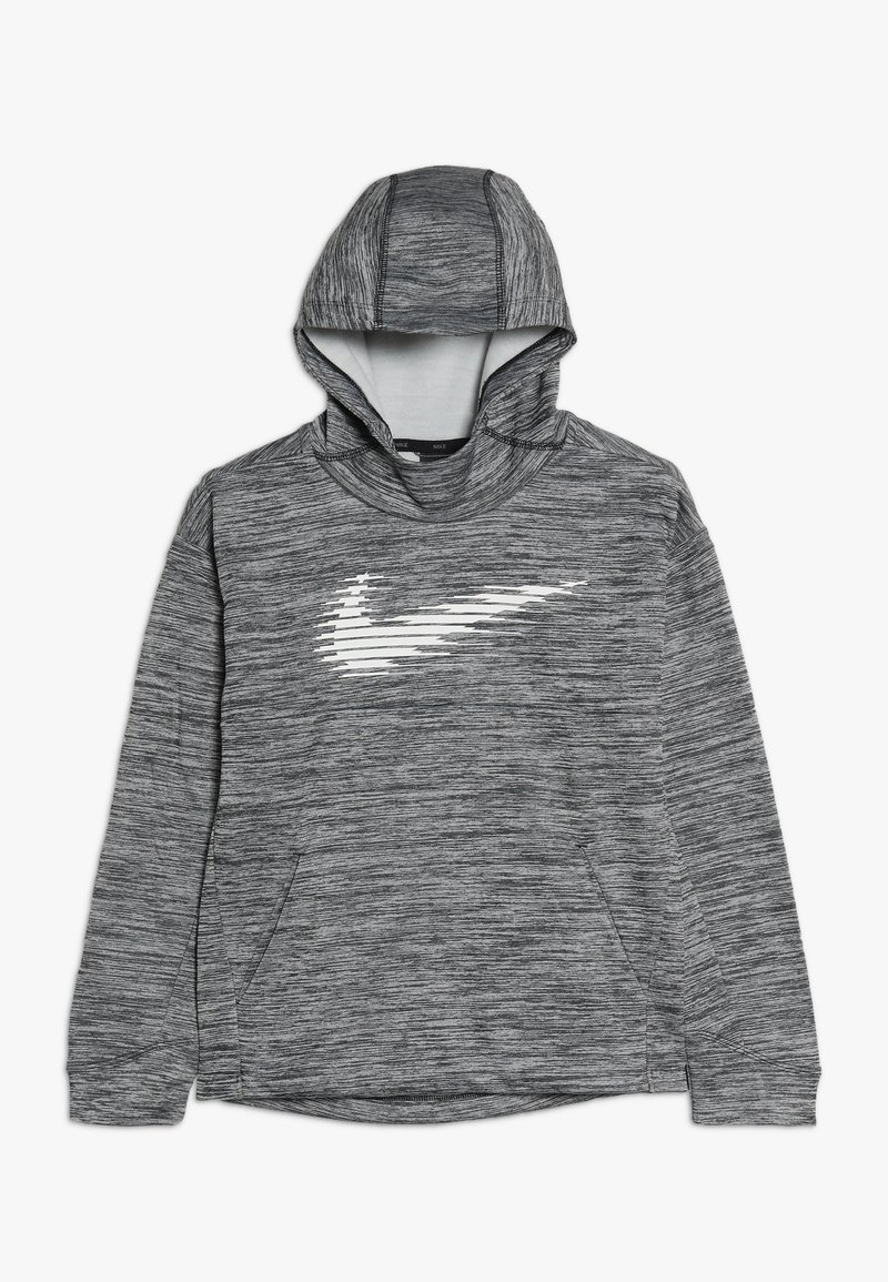 Nike Performance - THERMA HOODIE - Huppari - black/heather/white