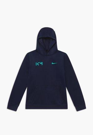 KYLIAN MBAPPE HOODIE - T-shirt à manches longues - obsidian/aurora green
