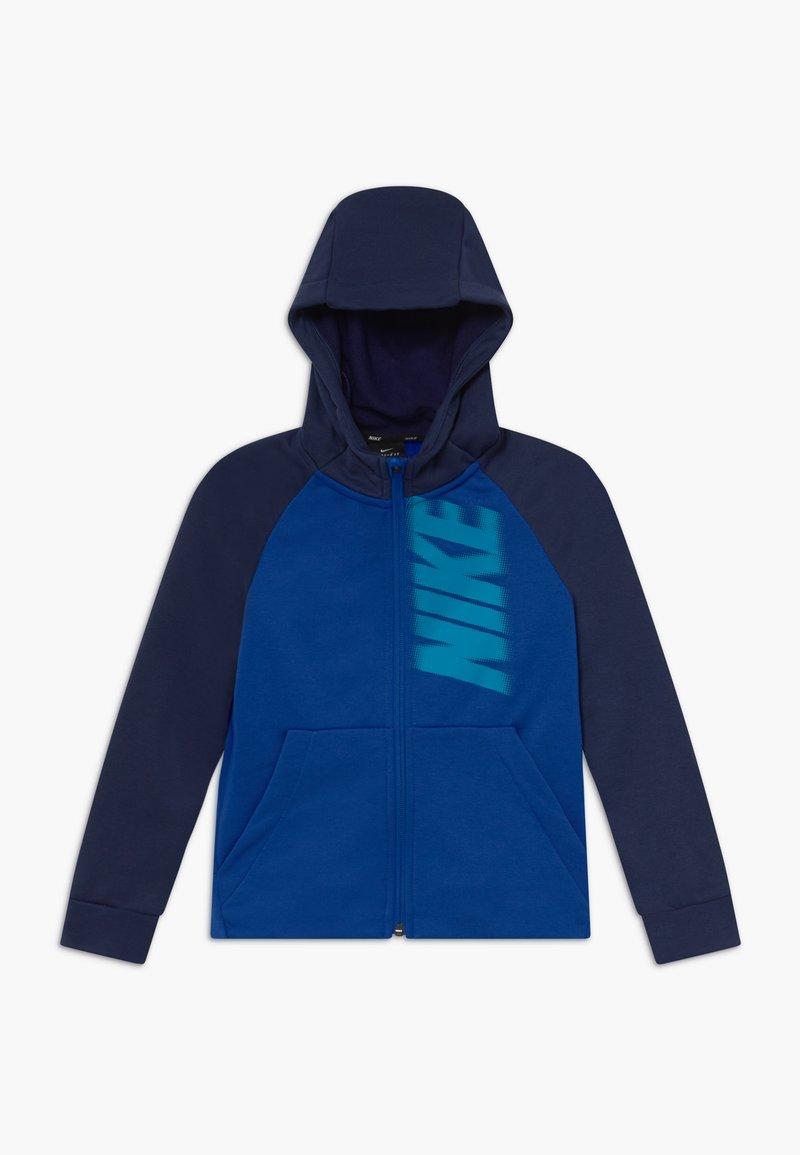 Nike Performance - DRY - Sudadera con cremallera - game royal/midnight navy/laser blue