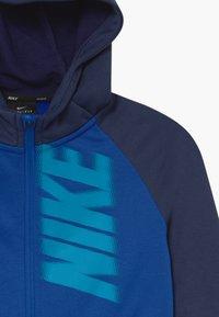 Nike Performance - DRY - Sudadera con cremallera - game royal/midnight navy/laser blue - 3