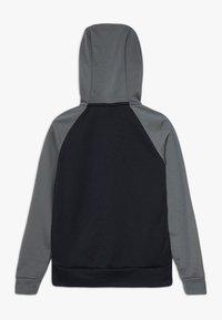 Nike Performance - DRY - Bluza rozpinana - black/iron grey/white - 1
