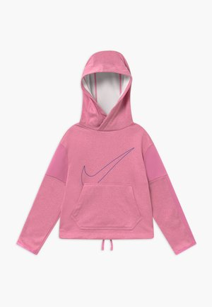 THERMA HOODIE - Hoodie - magic flamingo/hyper blue