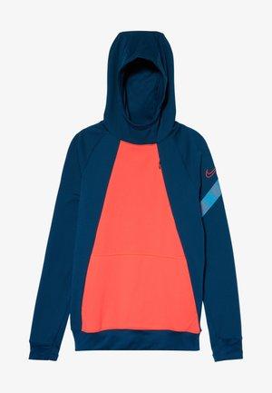 Jersey con capucha - valerian blue/laser crimson