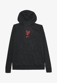 Nike Performance - NEYMAR DRY HOODIE - Sports shirt - black/bright crimson - 2