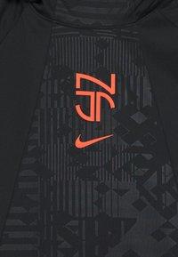 Nike Performance - NEYMAR DRY HOODIE - Sports shirt - black/bright crimson - 3
