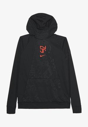 NEYMAR DRY HOODIE - Sportshirt - black/bright crimson