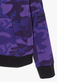 Nike Performance - NBALOS ANGELES LAKERS HOODIE COURTSIDE  - Mikina na zip - court purple - 4