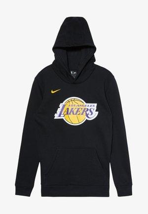 NBA LOS ANGELES LAKERS HOODIE LOGO - Bluza z kapturem - black