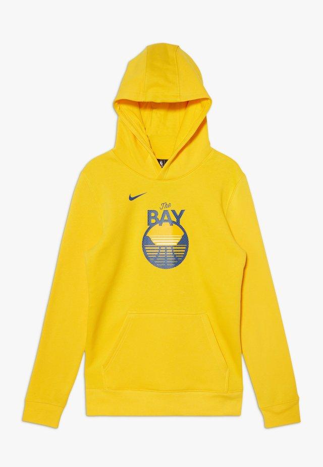 NBA GOLDEN STATE WARRIORS HOODIE LOGO  - Club wear - amarillo