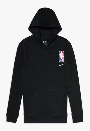 NBA LOGO HOODIE COURTSIDE TEAM - Huppari - black