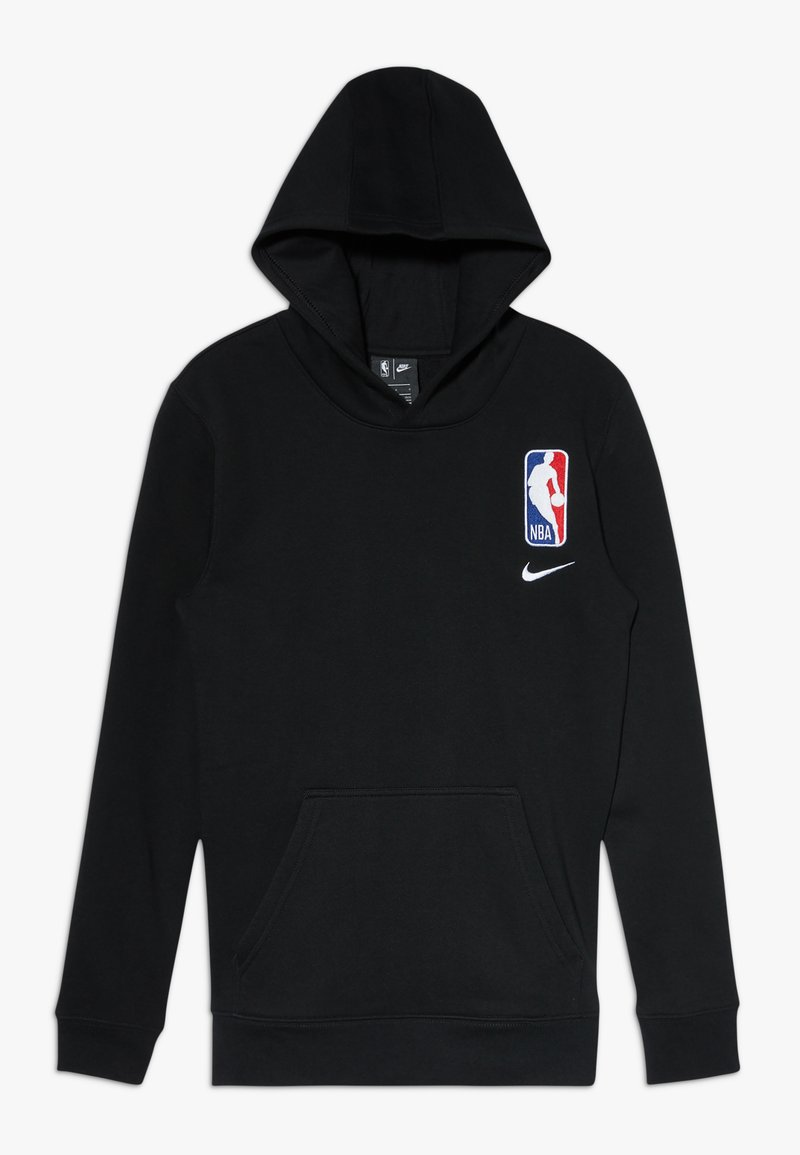 Nike Performance - NBA LOGO HOODIE COURTSIDE TEAM - Huppari - black