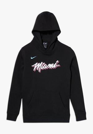 NBA MIAMI HEAT HOODIE CLUB CITY - Pelipaita - black