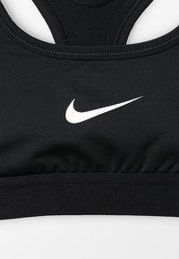 Nike Performance - CLASSIC - Sportovní podprsenka - black/white - 3