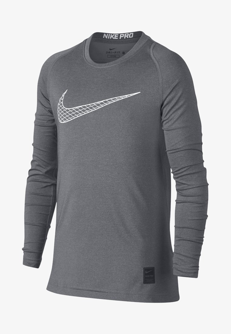 Nike Performance - T-shirt de sport - carbon heather/white