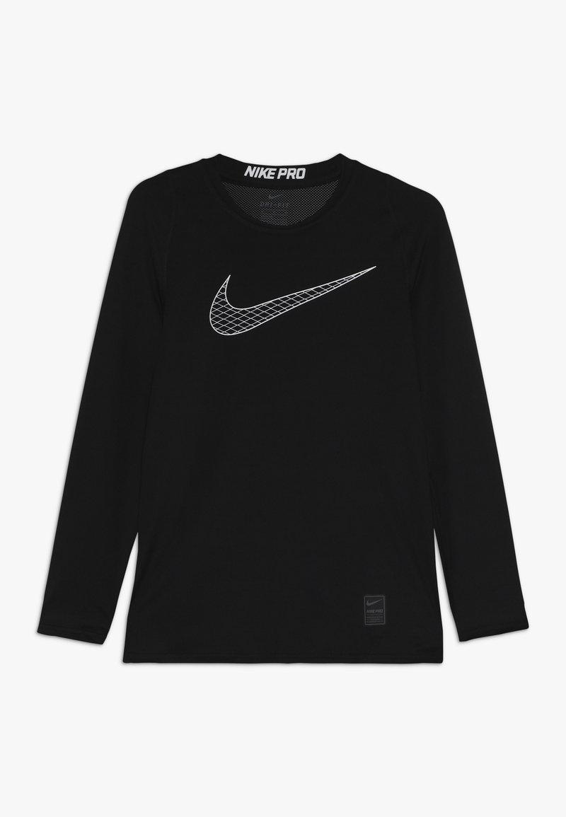 Nike Performance - Tekninen urheilupaita - black/white