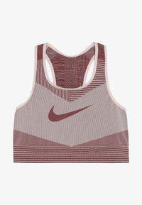 Nike Performance - FENOM SEAMLESS BRA - Sports bra - echo pink/cedar - 2