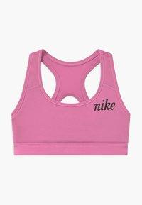 Nike Performance - REVERSIBLE - Sports bra - hyper blue/magic flamingo - 2