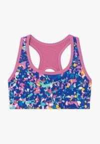 Nike Performance - REVERSIBLE - Sports bra - hyper blue/magic flamingo - 0