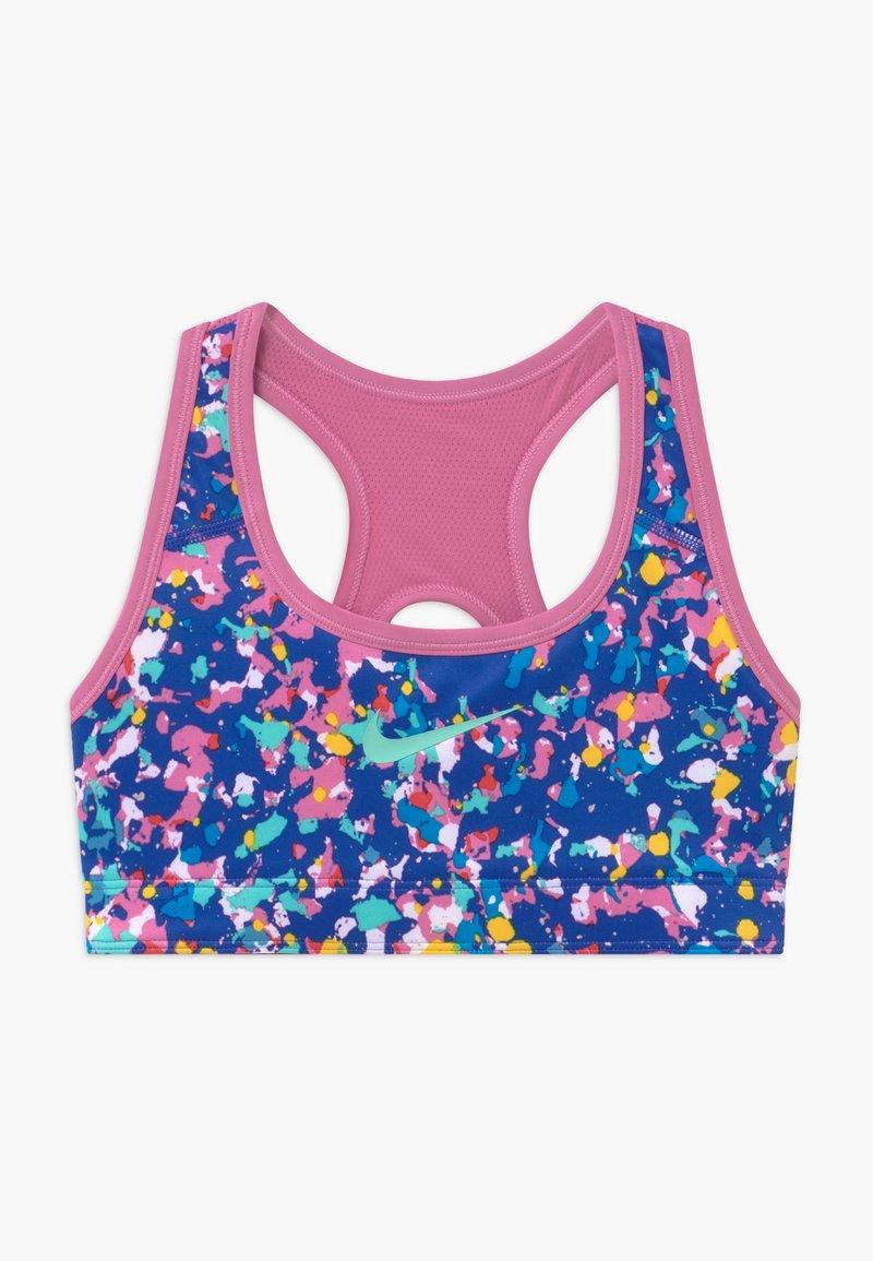 Nike Performance - REVERSIBLE - Sports bra - hyper blue/magic flamingo