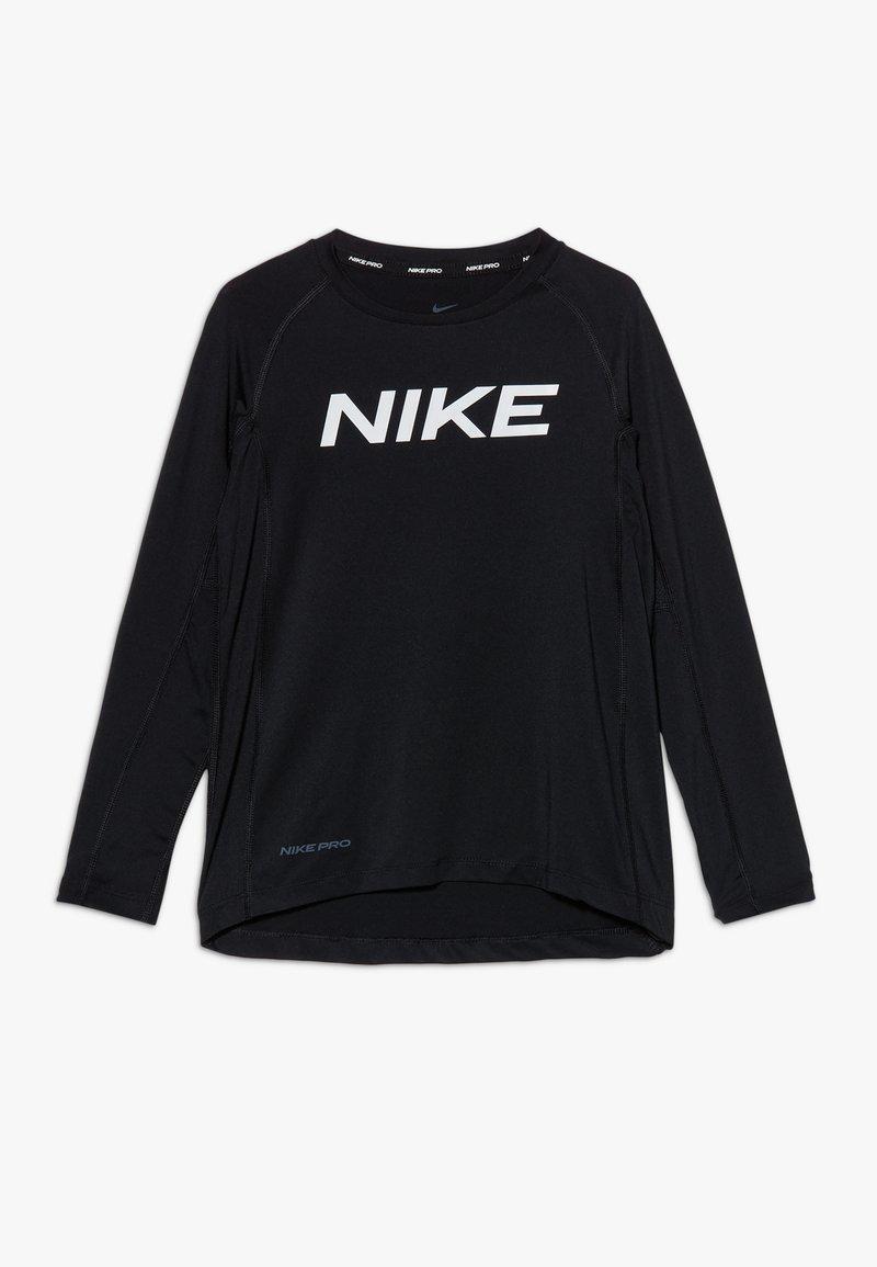 Nike Performance - B NP LS FTTD TOP - Sports shirt - black