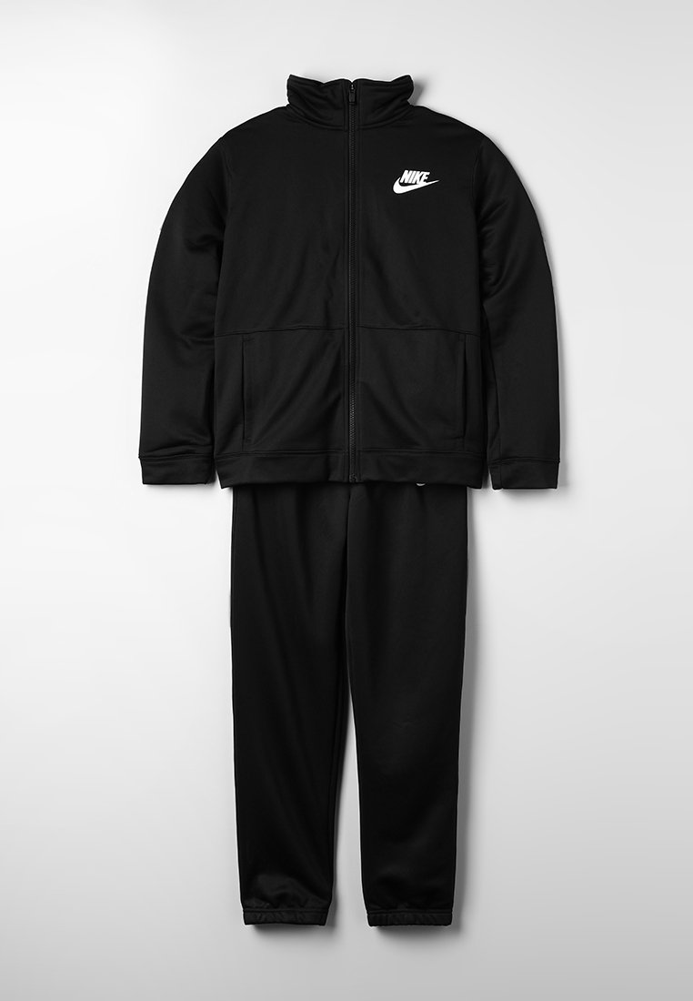 Nike Performance - TRACK SUIT - Tracksuit - black/black/white