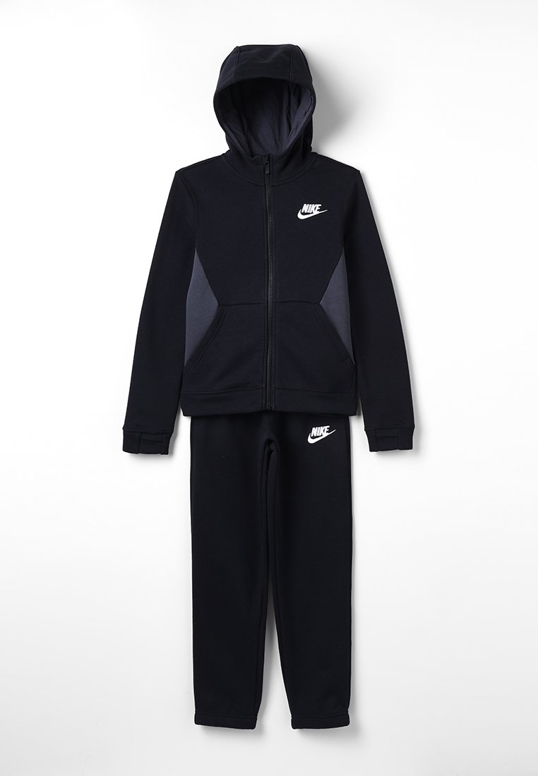 Nike Performance - SUIT CORE - Tracksuit - black/anthracite/white