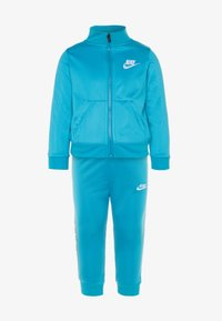 Nike Sportswear - BLOCK TAPING TRICOT BABY SET - Chándal - laser blue - 0