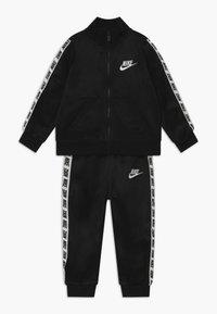 Nike Sportswear - BLOCK TAPING TRICOT BABY SET - Survêtement - black - 0