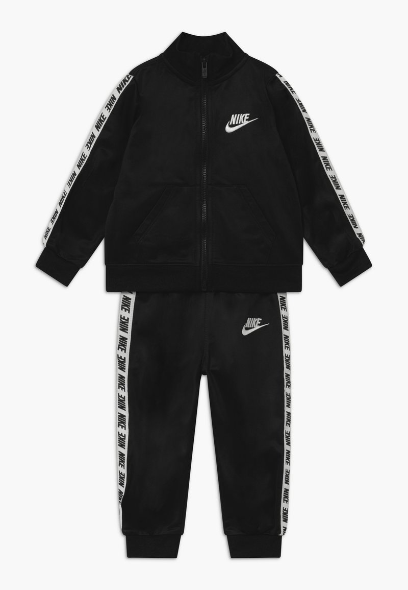 Nike Sportswear - BLOCK TAPING TRICOT BABY SET - Survêtement - black