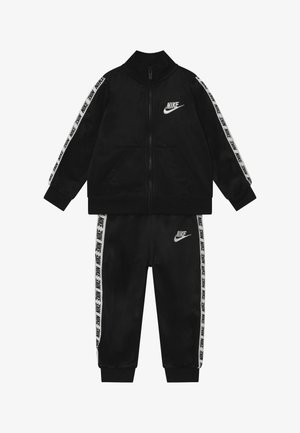 BLOCK TAPING TRICOT BABY SET - Tracksuit - black