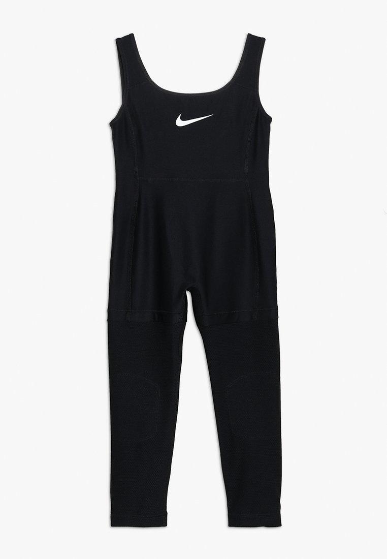 Nike Performance - BODY SUIT STUDIO - Tracksuit - black/white
