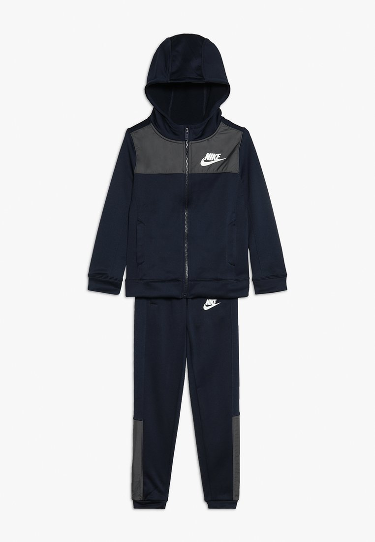 Nike Performance - HYBRID TRACKSUIT - Trainingspak - obsidian/dark grey/white